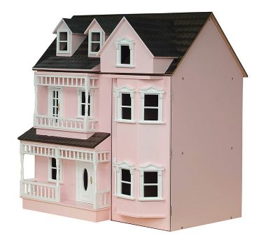 Exmouth Dolls House in pink
